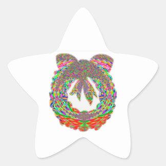 Wreath Diamond Jewel Pattern by Navin Star Sticker