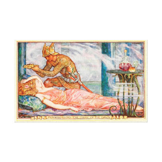 Wreath for Fairy of the Dawn Canvas Print