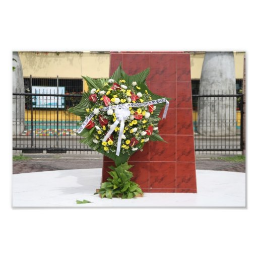 Wreath for Rizal Art Photo