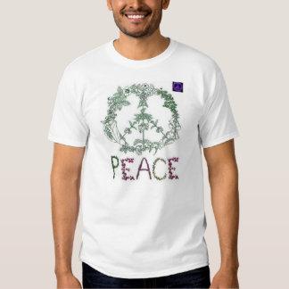 Wreath Peace Tee Shirt