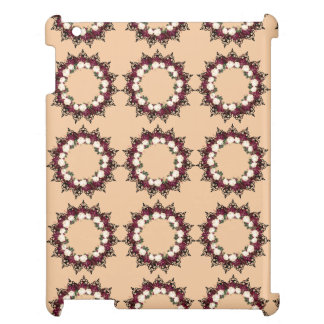"""Wreath """"Red Leaf"""" Flowers Floral iPad Case"""
