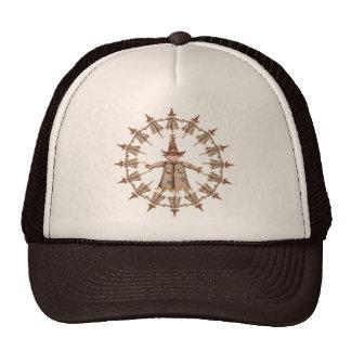 WREATH SCARECROW by SHARON SHARPE Trucker Hat