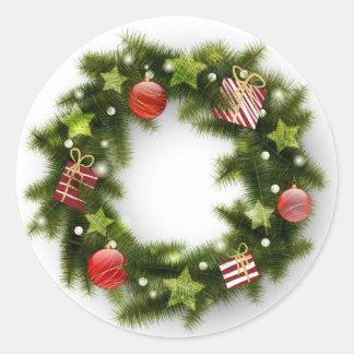 Wreath stickers