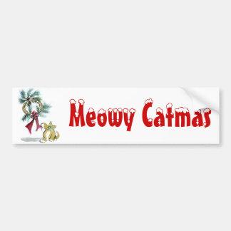 wreath tag by kitten bumper sticker