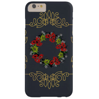 """Wreath """"Triple Flower"""" Apple iPhone 6/6s Plus Barely There iPhone 6 Plus Case"""