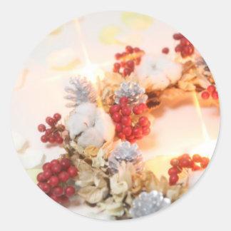 Wreath white light