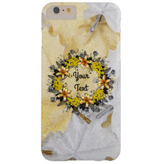 """Wreath """"Yellow Yellow"""" Apple iPhone 6/6s Plus Barely There iPhone 6 Plus Case"""