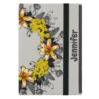 "Wreath ""Yellow Yellow"" Flower Floral iPad Mini iPad Mini Case"