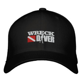 Wreck Diver Embroidered Cap