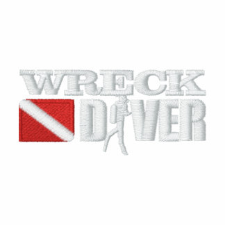 Wreck Diver Embroidered Shirts