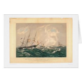 "Wreck of the Steamship ""San Francisco"" (1877A) Card"