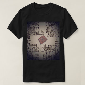 Wrecked Fountain Map T-Shirt