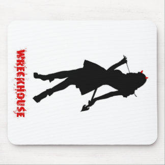 Wreckhouse Devil Girl Mouse Pad