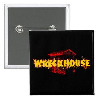 Wreckhouse Square Button