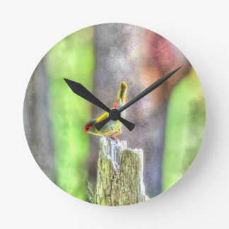 WREN AUSTRALIA ART EFFECTS CLOCK