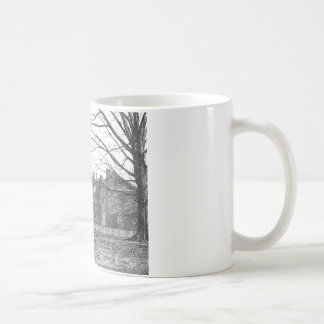 Wren Building, College of William and Mary Basic White Mug