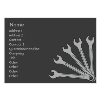 Wrench - Chubby Business Card