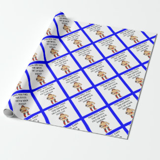 wresting wrapping paper