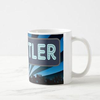 Wrestler Marquee Coffee Mug