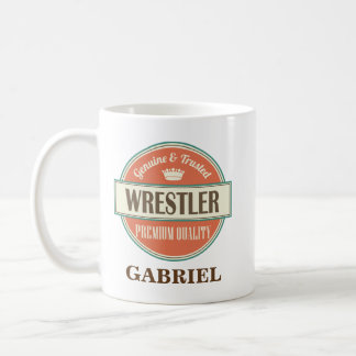 Wrestler Personalised Office Mug Gift
