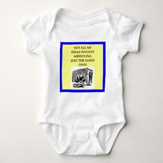 WRESTLING BABY BODYSUIT