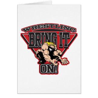 Wrestling Bring It On Card