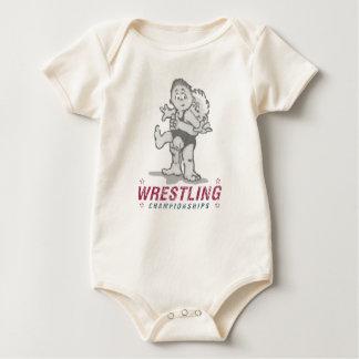 Wrestling Championships Baby Bodysuit
