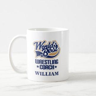 Wrestling Coach Personalized Mug Gift
