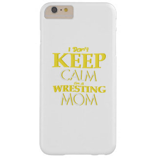 Wrestling Mom Wrestle Wrestling Funny Barely There iPhone 6 Plus Case