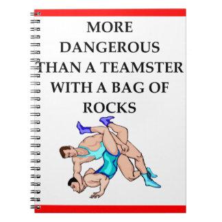 wrestling notebook