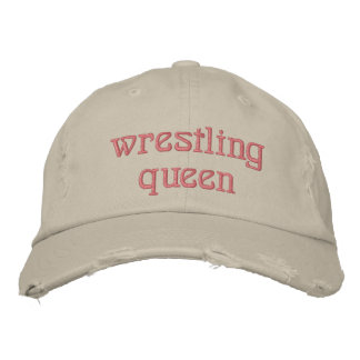 Wrestling Queen Embroidered Baseball Cap