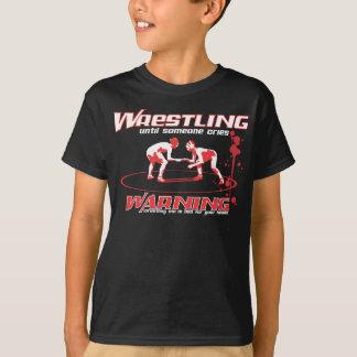 Wrestling Shirt with Blood Splatter for Boys+Girls