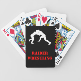 Wrestling team card deck poker deck
