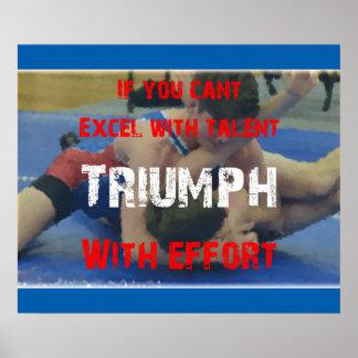 Wrestling Triumph Poster