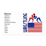 Wrestling United States Business Cards