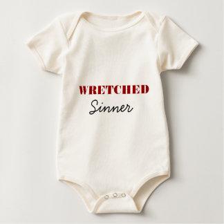 Wretched Sinner Baby Bodysuit