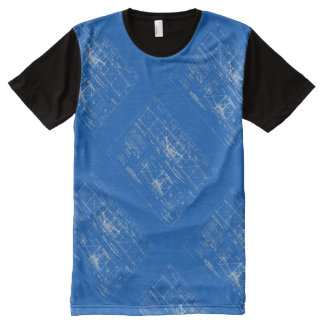 "Wright Bros. ""Flyer"" Blueprint 1903 All-Over Print T-Shirt"