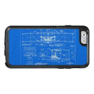 "Wright Bros. ""Flyer"" Blueprint 1903 OtterBox iPhone 6/6s Case"