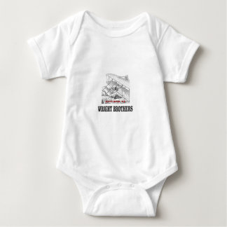 wright brother history baby bodysuit
