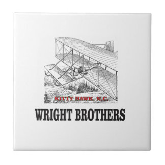 wright brother history ceramic tile
