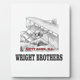 wright brother history plaque
