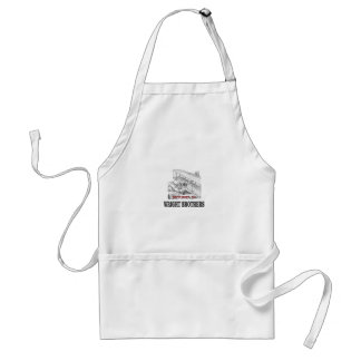 wright brother history standard apron