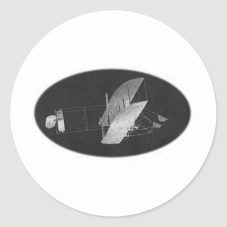 Wright Brothers #1 Round Sticker