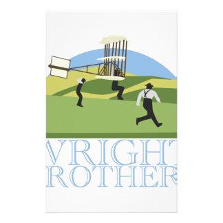 Wright Brothers Custom Stationery