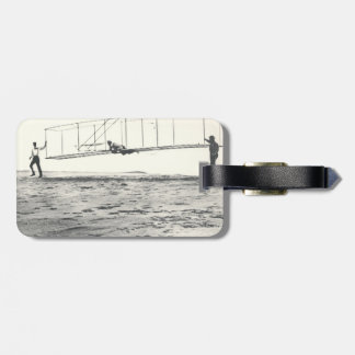 Wright Brothers' Glider Tests Luggage Tag