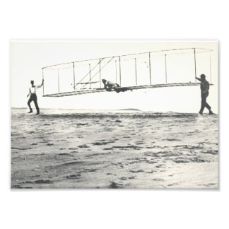 Wright Brothers' Glider Tests Photo Print
