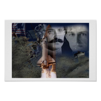 Wright Brothers Poster
