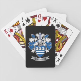 Wright Coat of Arms Playing Cards