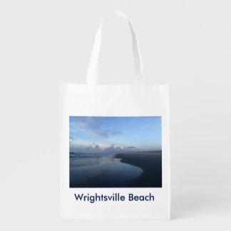 Wrightsville Beach Shell Island Tote Bag