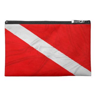 Wrinkled Diver Down Flag Travel Accessories Bag
